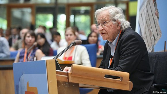 Noam Chomsky public lecture @DW Global Media Forum
